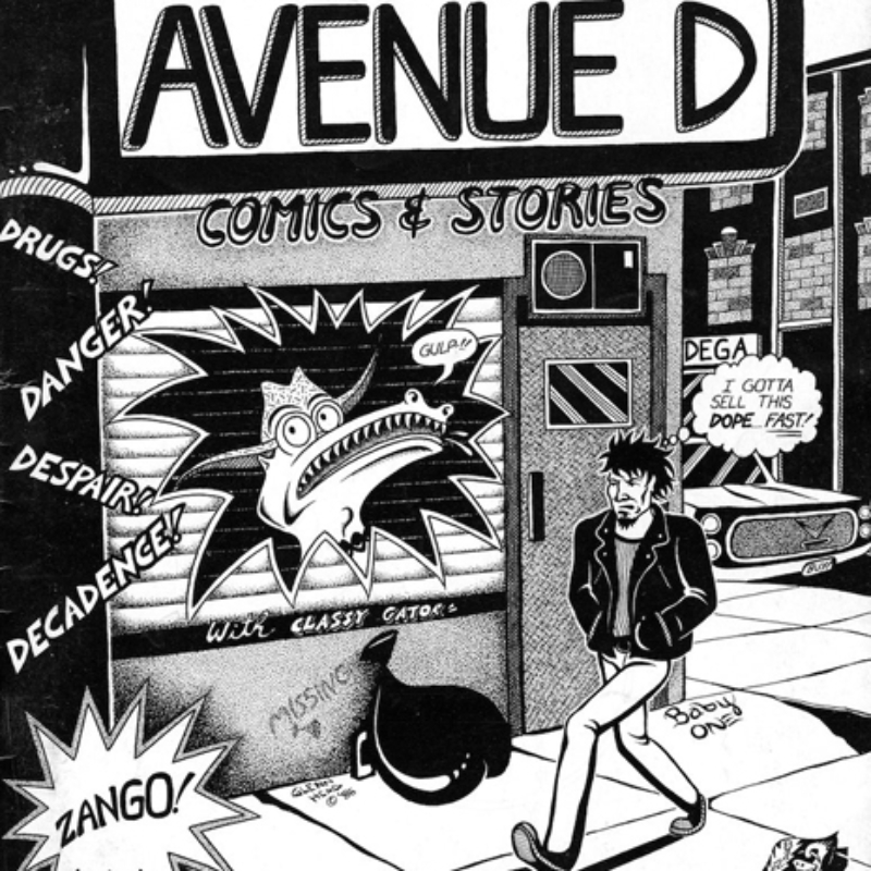 Avenue D Comics & Stories by Glenn Head