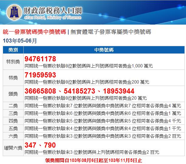 invoice20140506