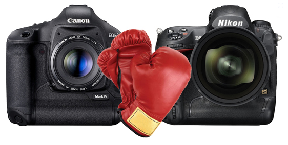 Canon and Nikon Cameras