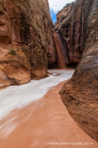 Waterfall in Entrajo Canyon II, Utah
