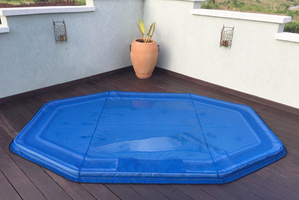 weatherproof canvas jacuzzi cover