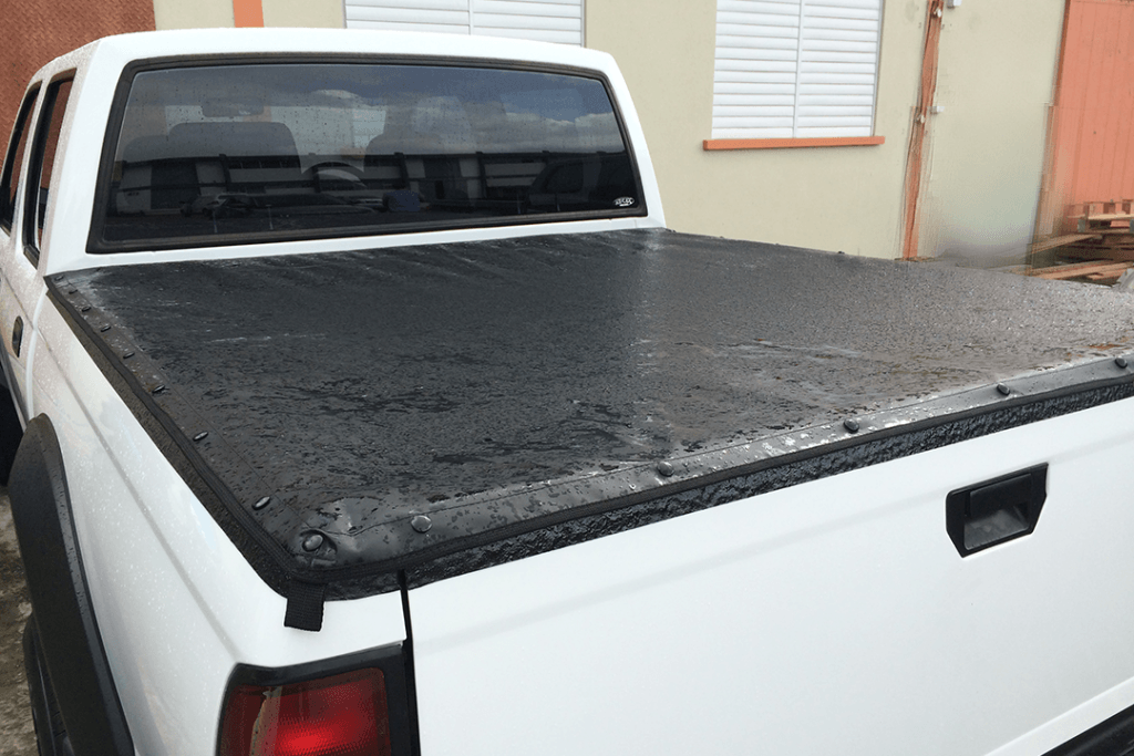 custom made weatherproof canvas truck bed cover