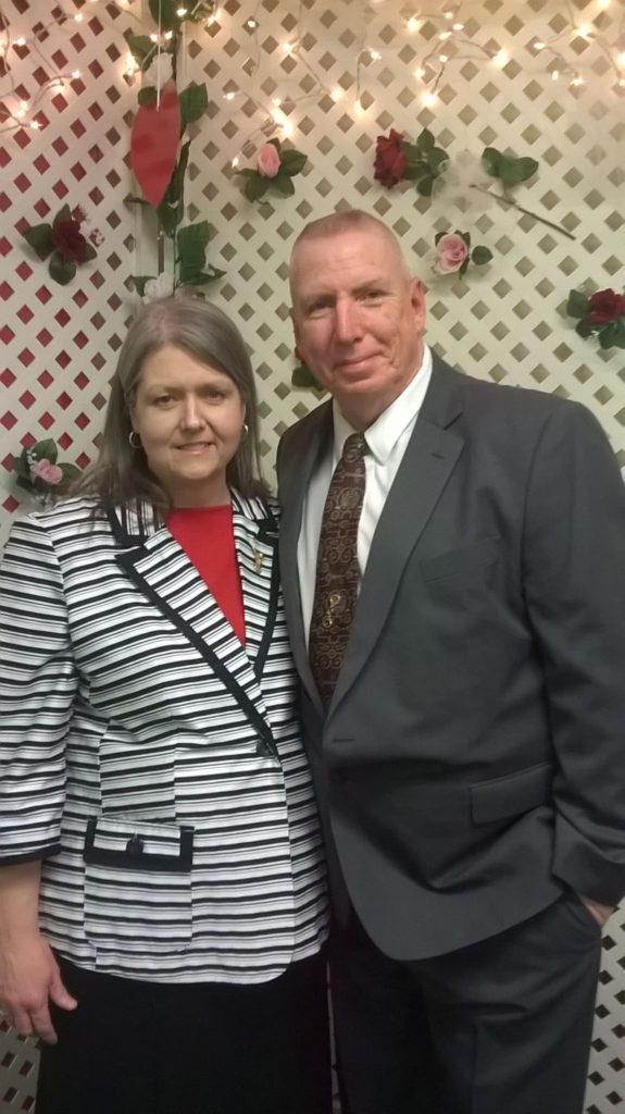 Our Pastor, Brother Malcolm and Mrs. Vicki, Harrison