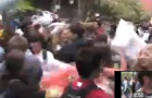 The Pillow Fight Was a Flash Mob!