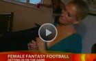 Her Fantasy Football League Was Featured Again on TV This Weekend!