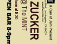 Jon Zucker (W'98) performs at the Mint this Saturday (Los Angeles, 3/24/07)