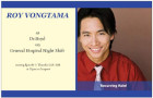 Roy Vongtama (C'96) scrubs up for General Hospital Night Shift