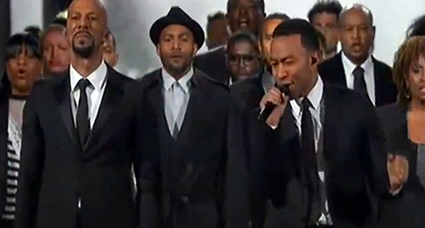 Penn Alum John Legend's Oscar Winning, Chilling Performance & Speech