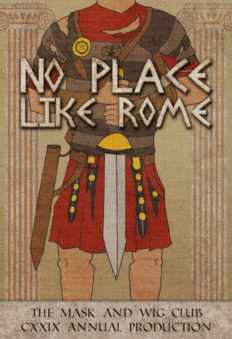 Mask and Wig There's No Place Like Rome