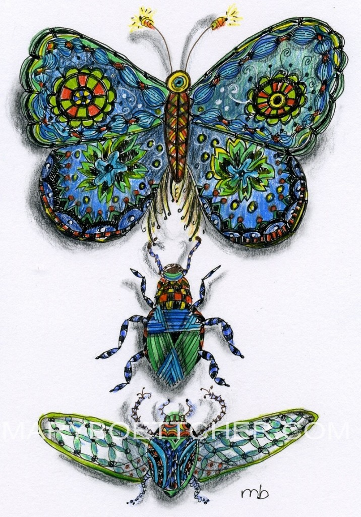 Butterfly and Beetals 2
