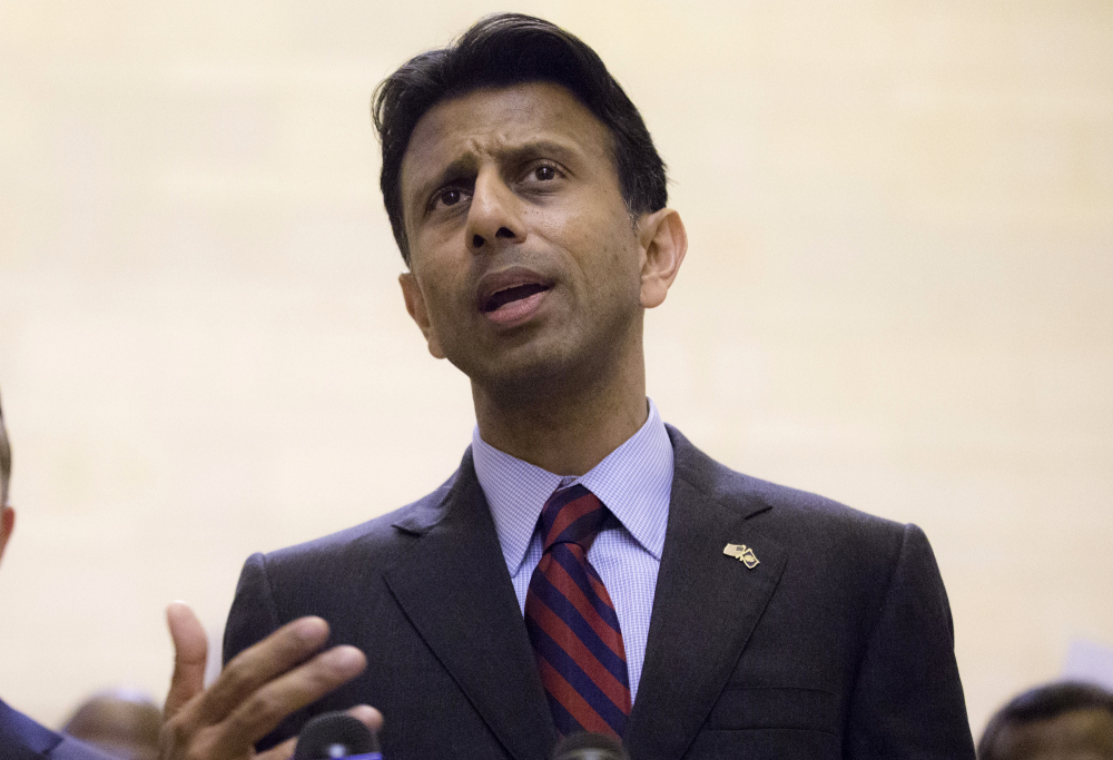 Lousiana Gov. Bobby Jindal still says there areas in Europe that are off-limits to non-Muslims. (John Minchillo, AP)