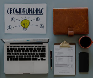 crowdfunding laptop work station | Lift CPA Accounting Vancouver