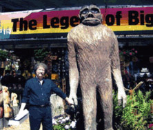 Me with Bigfoot, Pacific Northwest