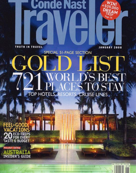 Conde Naste gold list WS1