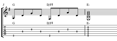 example of chord descent 2