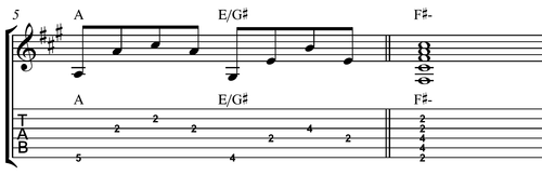 example of chord descent 3