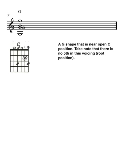 Variation on Open C Tuning 4