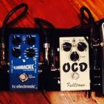 "Mark Marshall's mini ""emergency tone kit"" pedal board"