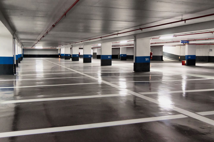 Gallery of all star pressure cleaning parking lot cleaning