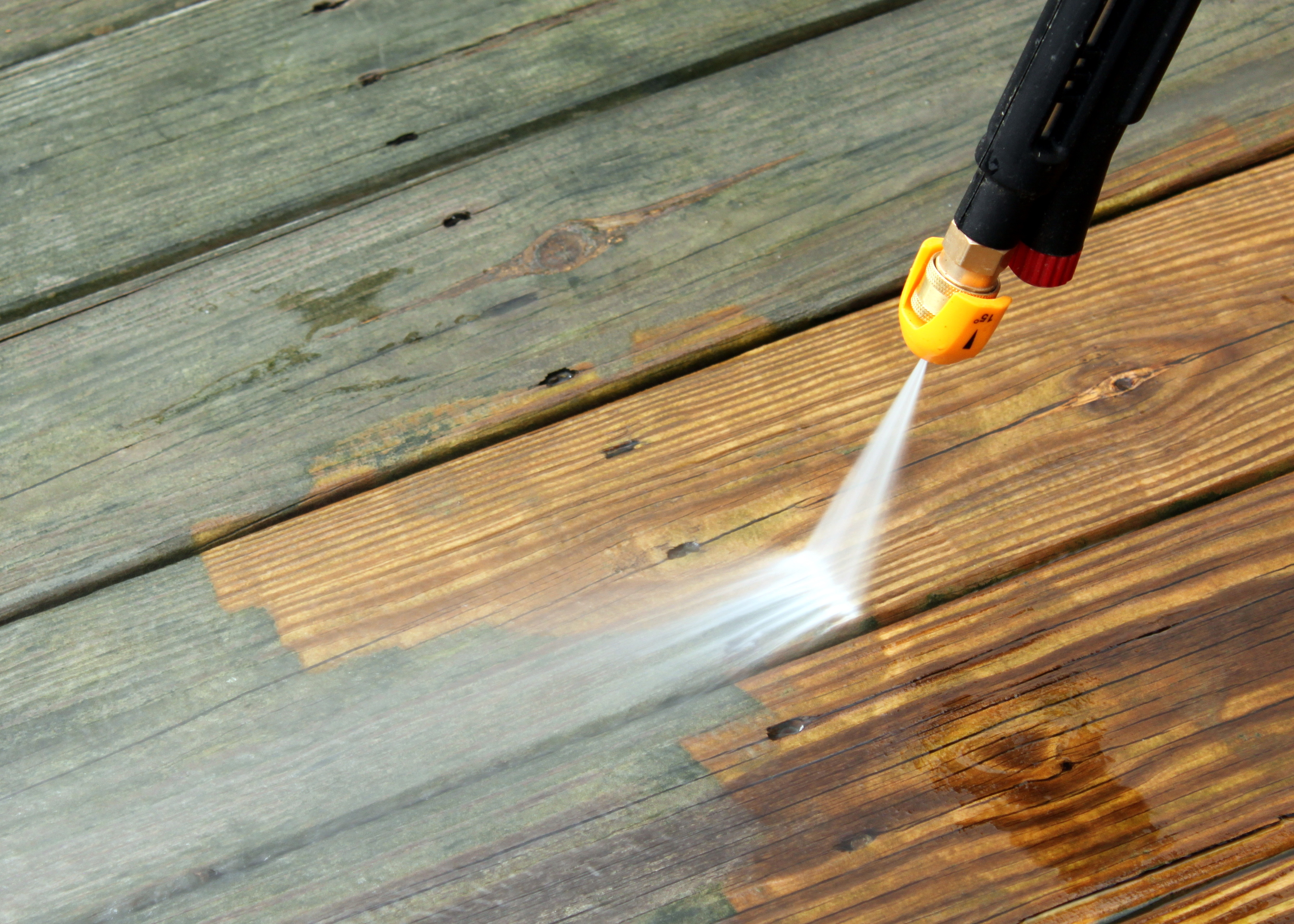 fence and dock cleaning