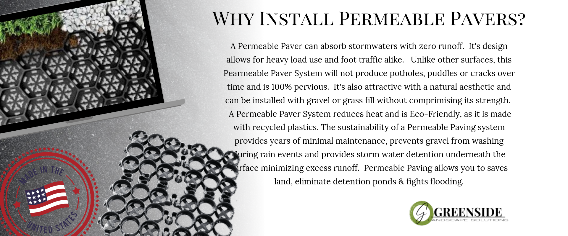Why Permeable Pavers