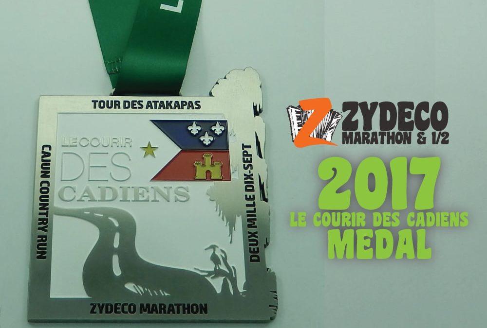 2017 Le Courir Des Cadiens Medals
