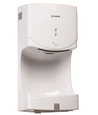 Automatic high speed jet hand dryer, power 550-1400w, drying time 10-15S, with carbon brush motor.