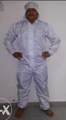 ESD Smock Gown Bunny Suit
