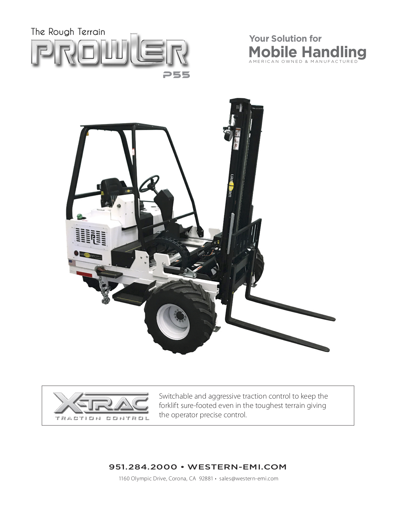 Prowler P55 Brochure new