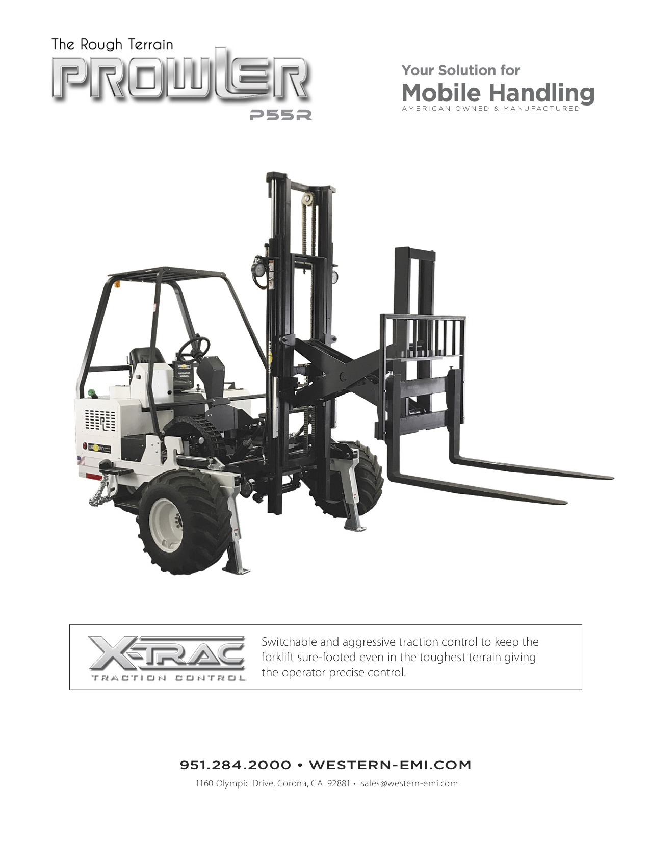 Prowler P55R Brochure new