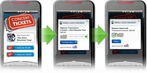 Start-up Unveils 'Single-Click Checkout' Mobile App