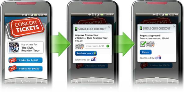 Start-up Unveils 'Single-Click Checkout' Mobile App