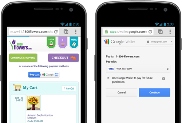 Google Wallet's PayPal Transformation Continues