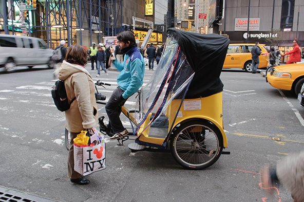 On Pedicabs, Square, Credit Card Declines and Fraud