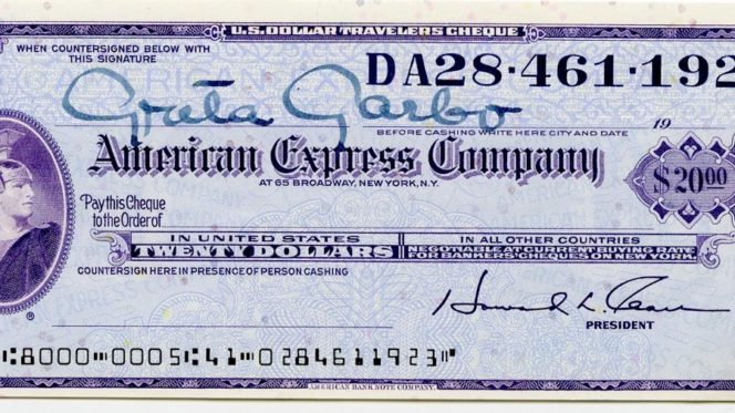 American Express Travelers Cheques