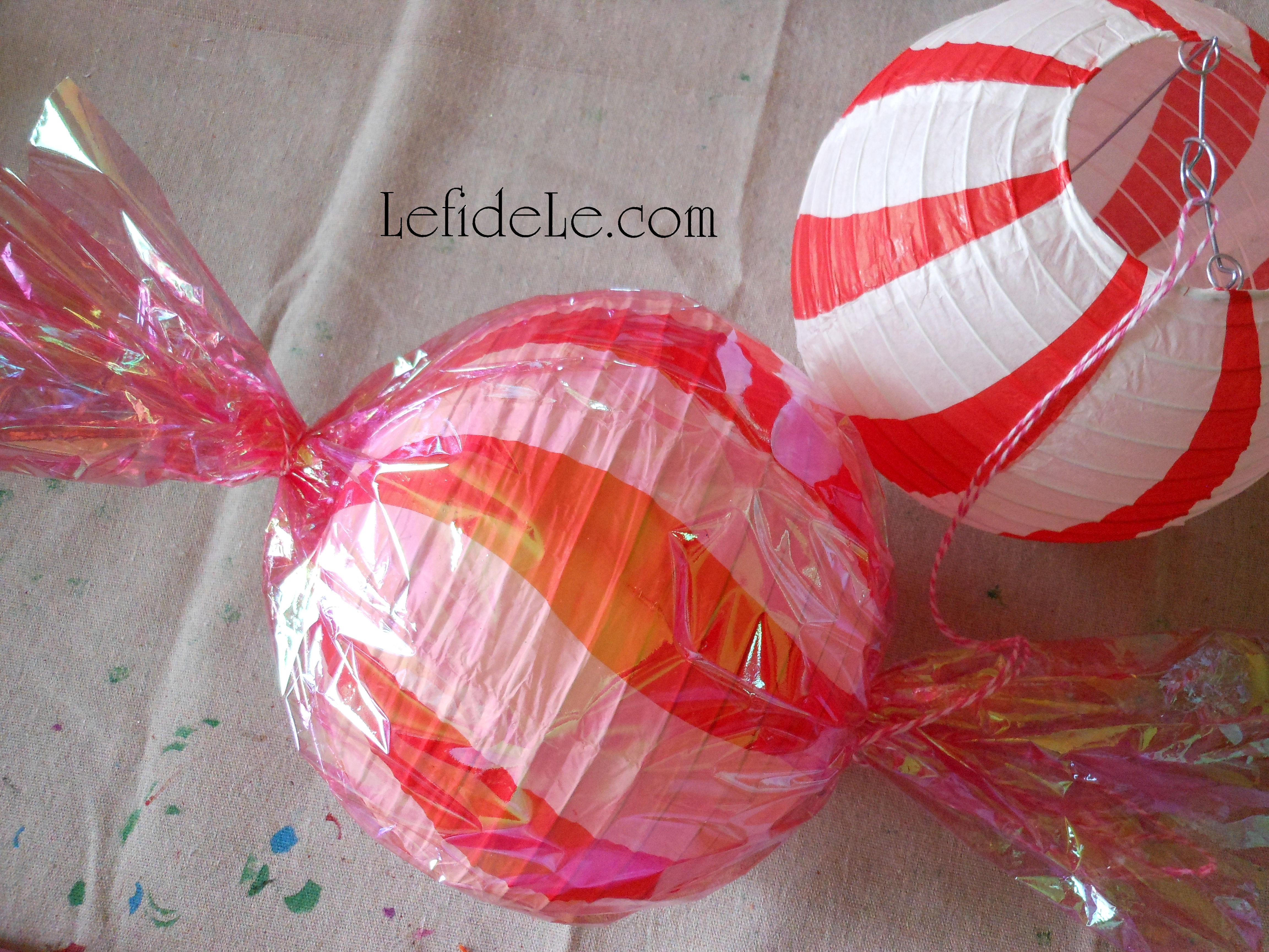 Diy Candyland Party Themed Craft Tutorial Hard Candy