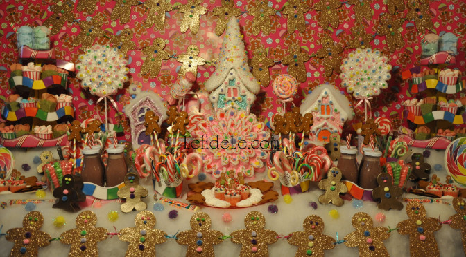 Candyland Themed Party Décor Ideas (for Baby Showers, Children's Birthdays, or Christmas Decorating)