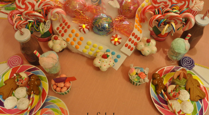 """Quick & Easy Candyland Confection Ideas: Pink Almond Milk Juice """"Recipe"""", Cotton Candy """"Cream"""" Sodas, & Gingerbread Peep Pops"""