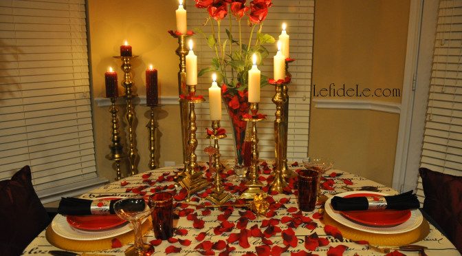 Love Letter Themed Tablescape (Perfect for Valentine's Day, Romantic Date Night, or Anniversary Dinner)
