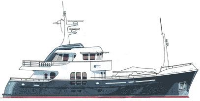 85' Peer Gynt/Farmont Yachts Trawler