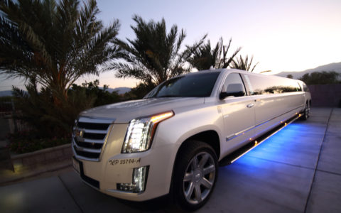 Our 2016 Cadillac Escalade limo accommodates up to 20 passengers.