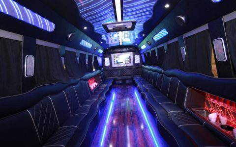 2017 Freightliner Party Bus, accommodates up to 27 passengers