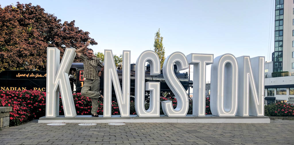 Putting the 'I' in Kingston!