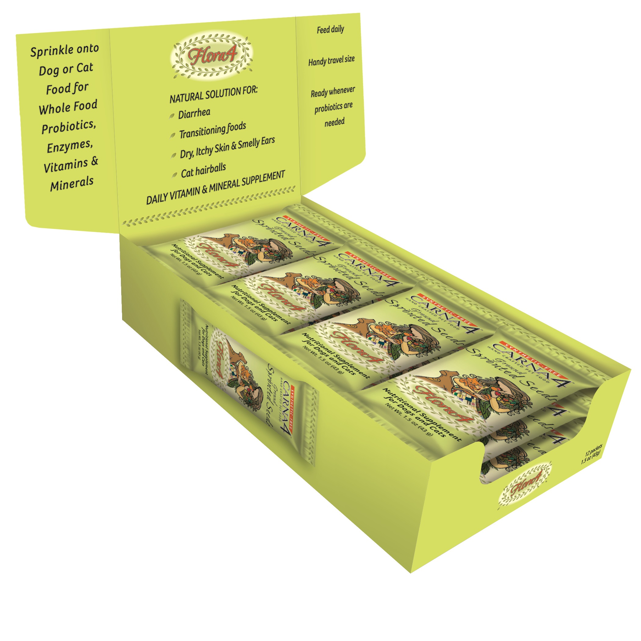 Flora4 Sprouted Seed Food Topper