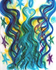 """Wisdom of the Angels - """"coming together"""", """"standing together"""" angel art"""