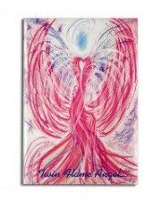Wisdom of the Angels - angel art magnet, Angel Gifts, Angelic Art, angels, Art, emotions, healing art, Love, New age gifts, soul mate, spirituality, true love, twin flame, unconditional love, Visionary Art