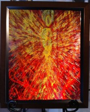 Wisdom of the Angels - emotional healing angel art
