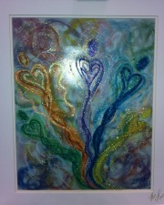 Wisdom of the Angels - lightworker angel art