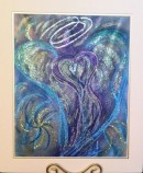 Wisdom of the Angels - angel of transformation art