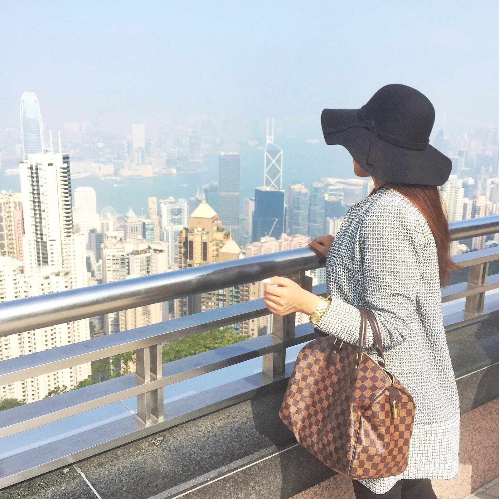 luxury traveler in Victoria's peak hong kong